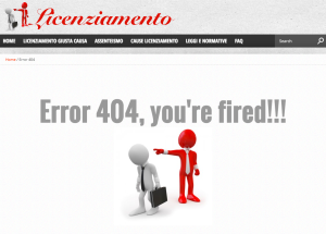 404licenziamento